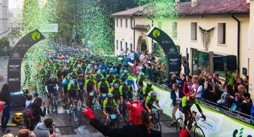 Prosecco Cycling nella storia: pedalano in 2.200