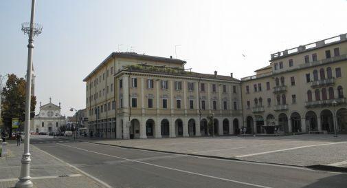 piazza Caduti a Mogliano