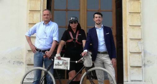 da sinistra, Giampiero Possamai, Alessandra Sara Vanin e Tommaso Razzolini