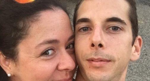 Riccardo Mian e la fidanzata Giovanna