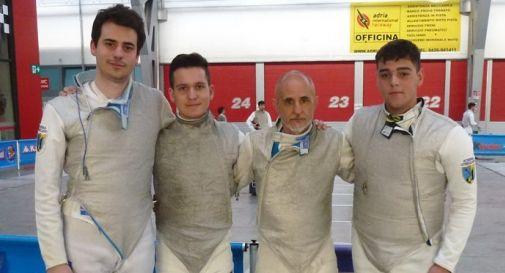 Paolo Ingargiola, Simone Sardegno, Fabrizio Capellini, Tommaso Faoro