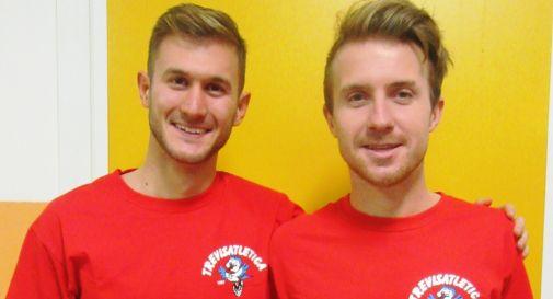 Riccardo Tamassia (a sinistra) e Stefano Ghenda (a destra)