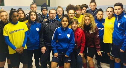 la squadra femminile del Villorba