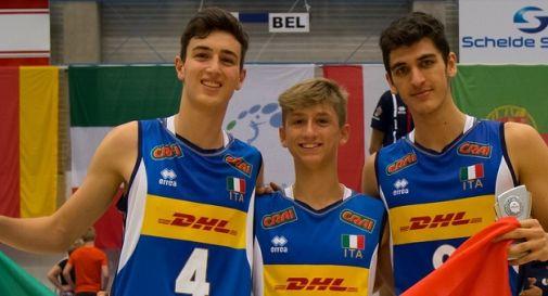 Alberto Pol, Paolo Porro e Federico Crosato