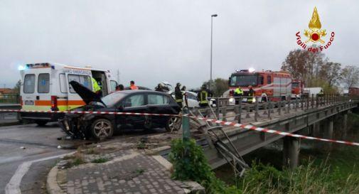 l'incidente di lunedì pomeriggio a San Stino di Livenza (Ve)
