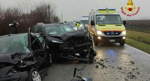 l'incidente di oggi pomeriggio in via Quartarezza