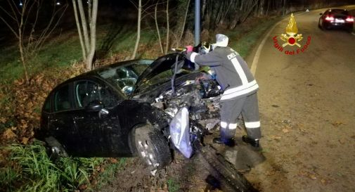 l'incidente di sabato sera in via Zecchina