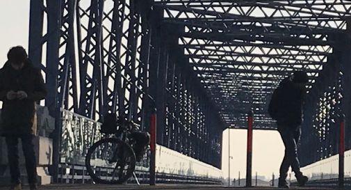 sopralluogo sul ponte della Vittoria a Meduna