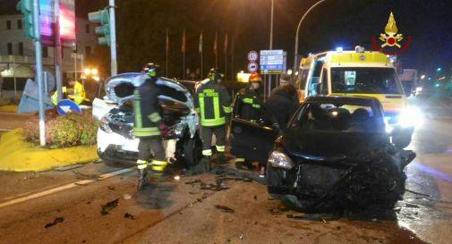 l'incidente di Mogliano si mercoledì all'alba