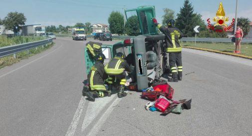 l'incidente di questa mattina a Motta