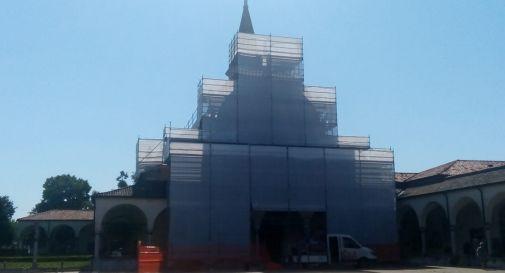 lavori in basilica