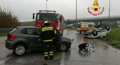 l'incidente accaduto in via Zermanesa a Casale