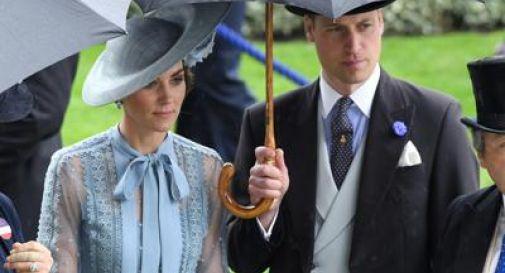 Incidente per William e Kate, ferita 83enne
