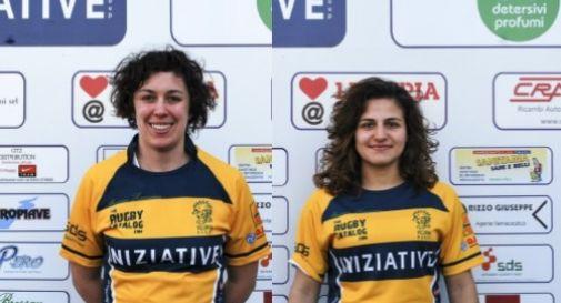 a sinistra Giulia Bragante, a destra Federica Cipolla