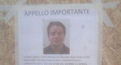uno dei cartelli appesi in zona Cannaregio a Venezia