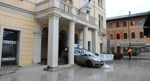 protesta auto veneto banca
