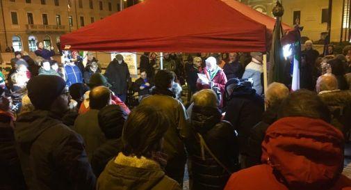 Anpi in piazza contro CasaPound