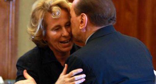 Silvio Berlusconi con Stefania Craxi