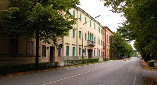 l'ingresso dell'istituto Brandolini di Oderzo
