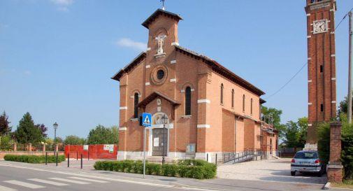 la chiesa di Campobernardo di Salgareda