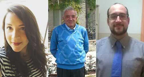 Federica, Walter e Roberto Cembali