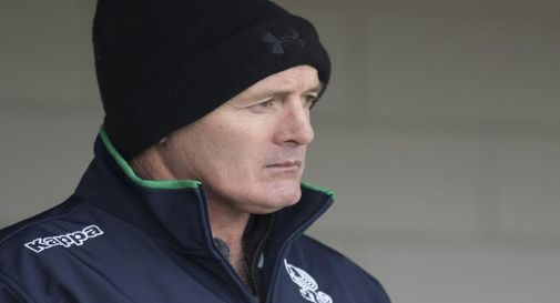 Coach Kieran Crowley