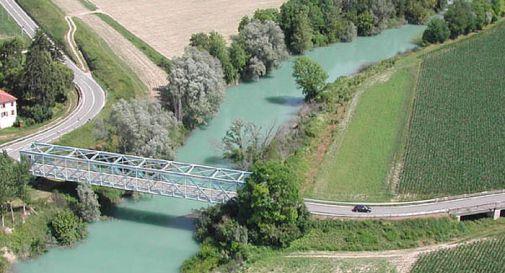 il ponte di Tremeacque dall'alto
