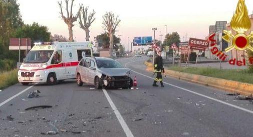 l'incidente di questa mattina a Ponte di Piave