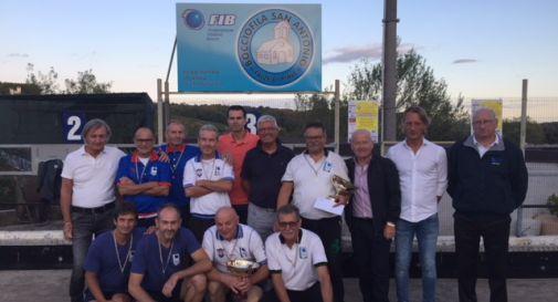 foto di gruppo del Memorial De Vecchi