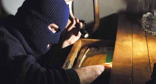 Ladro sorpreso mentre rovista tra i cassetti