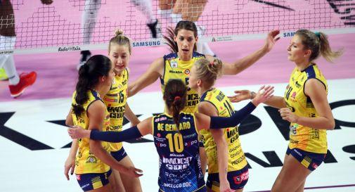L'Imoco batte Legnano 3-0