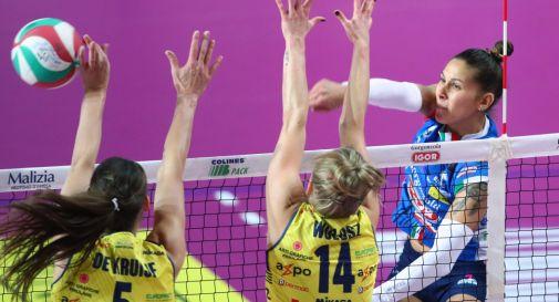 Martedì a Novara le Pantere concludono il girone di Coppa