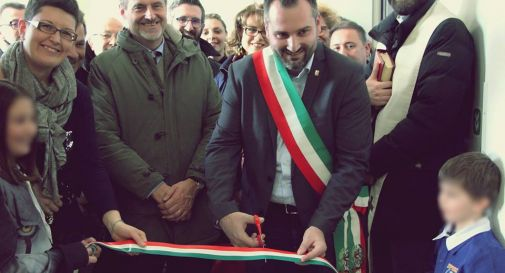 l'inaugurazione del plesso di San Giovanni (foto Carlo Verardo)