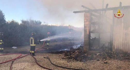 Incendio via Rive Montebelluna