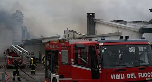 Incendio Milldue Riese