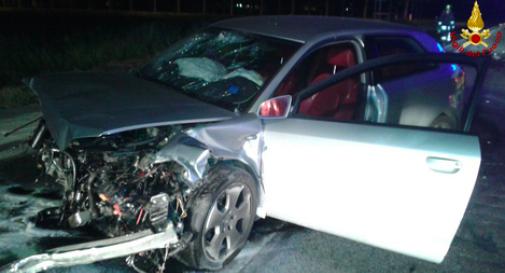 un'immagine dell'incidente di San Donà