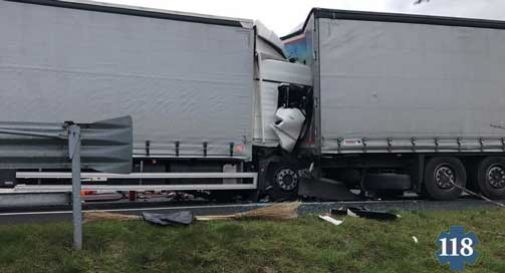 incidente stradale cessalto camion