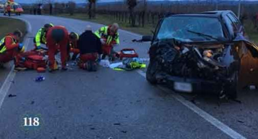incidente vidor 28enne grave