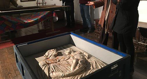 La Madonna col bambino del Sansovino torna al Museo del Cenedese