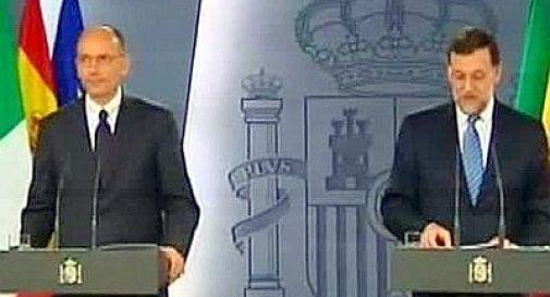 Governo, Letta a Madrid incontra Rajoy