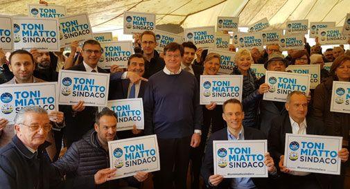 Antonio Miatto è il candidato del centrodestra: