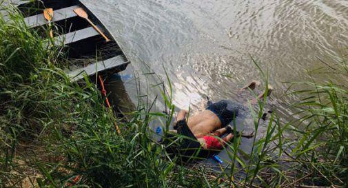 Padre e bimba di 2 anni muoiono abbracciati mentre tentano di superare il confine con gli USA