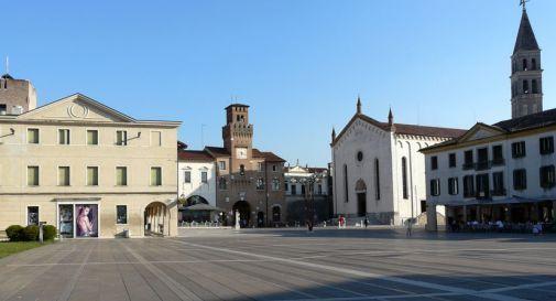 la piazza di Oderzo