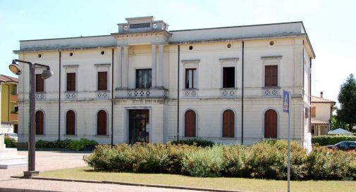 il municipio di Ormelle
