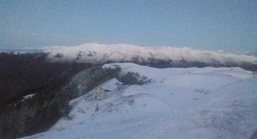 Ecco la prima (vera) neve sulle nostre montagne