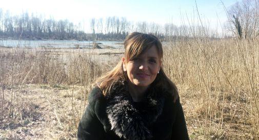 Paola Roma oggi a Negrisia, di fronte al Piave