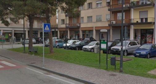 piazza Pio X a Mogliano