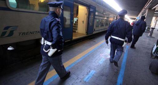 Polizia sui binari