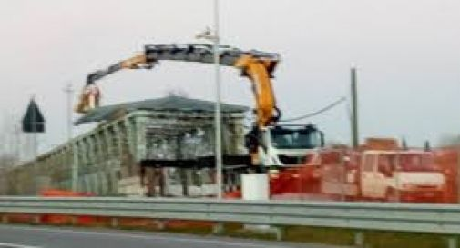 il ponte della Vittoria a Meduna