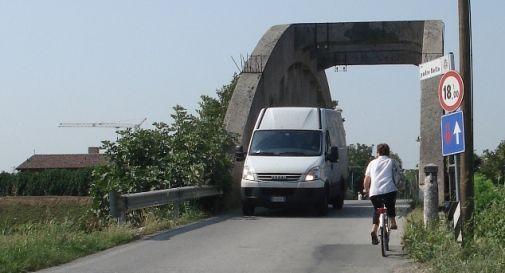 il ponte di via Redigole a Motta